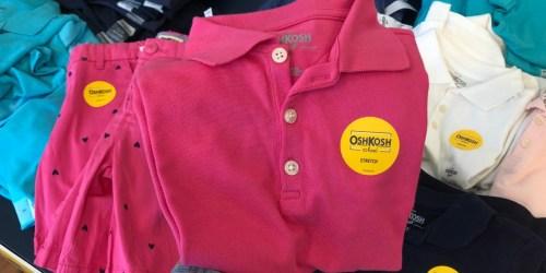 Carter's & OshKosh School Polos Only $4 Shipped (Regularly $20)