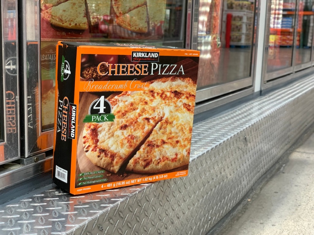 Kirkland Signature Cheese Pizza 4-Count