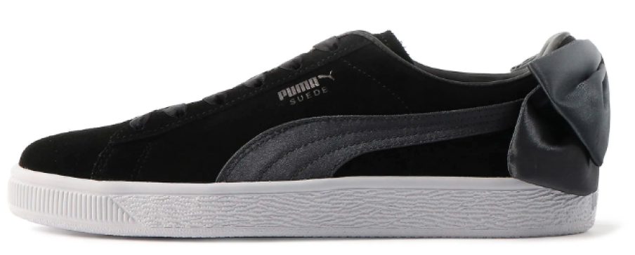 PUMA Women's Suede Bow Sneakers