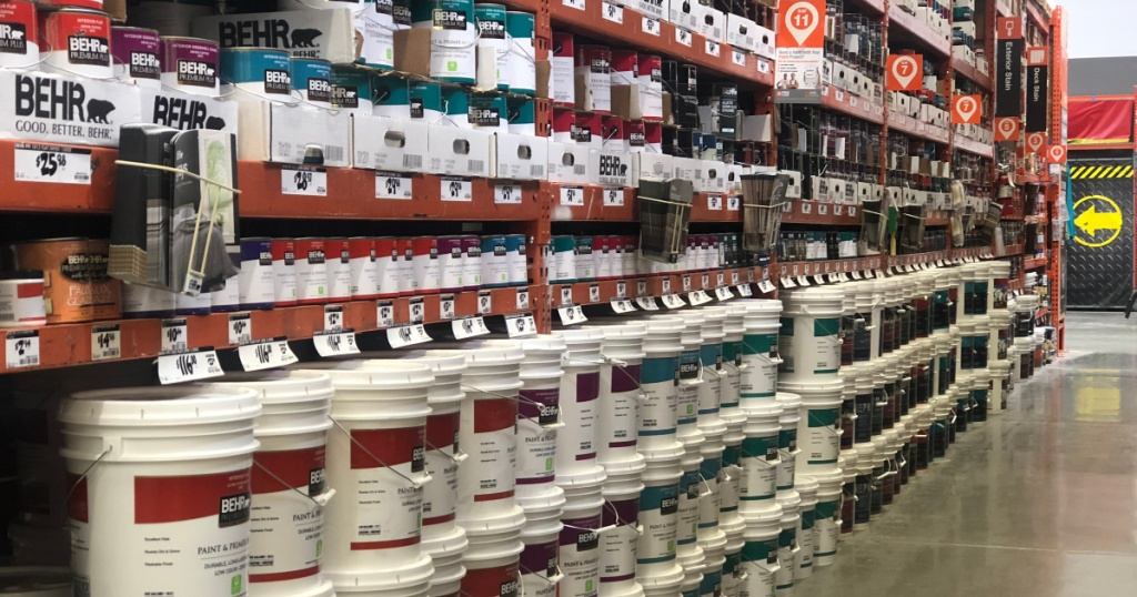 paint at home depot