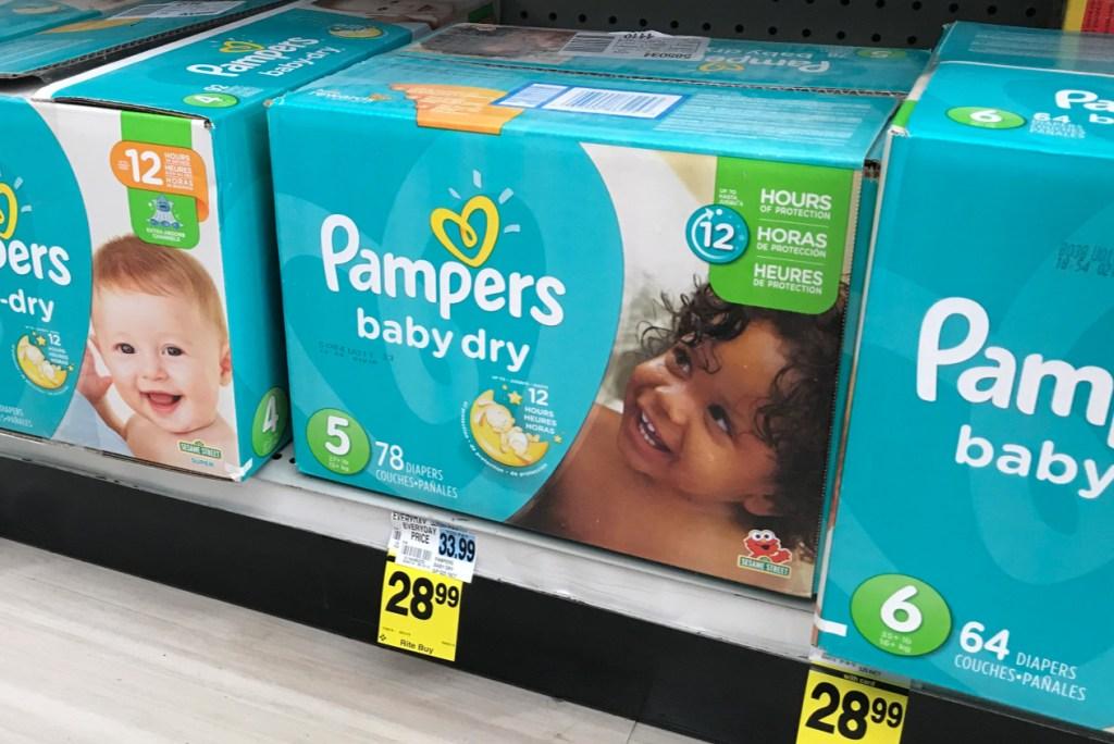 Pamper Super Rite Aid