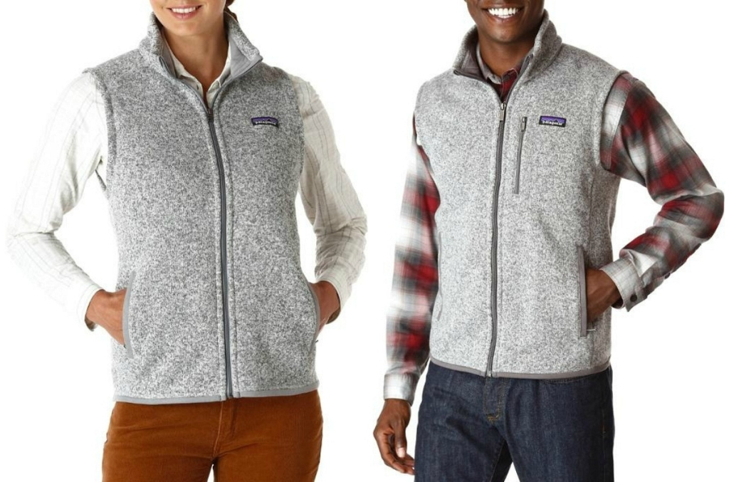 Patagonia mens and womens Better Sweater Vest