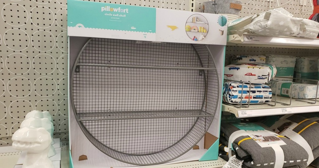 Pillowfort Circle Shelf at Target