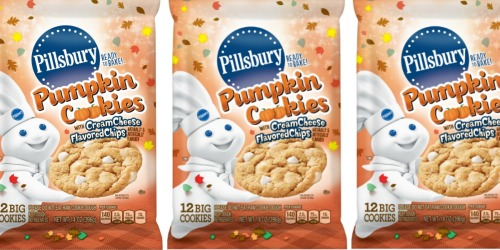 Pillsbury Pumpkin Cookies Feature Cream Cheese Flavored Chips | Bake & Enjoy in Under 20 Minutes