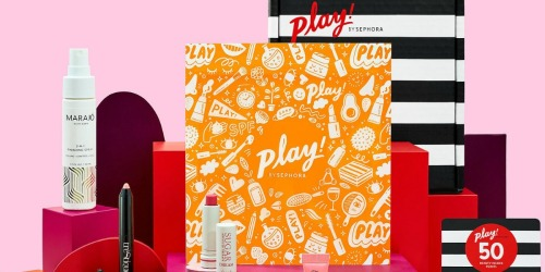 Sephora Play! Beauty Sample Boxes Only $9 (Up to a $45 Value)