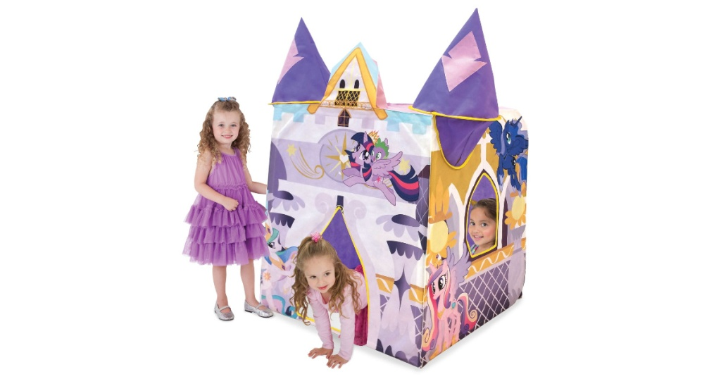 my little pony play castle