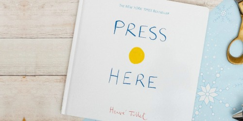 Press Here Interactive Toddler Book Only $5.76 | Reader Favorite