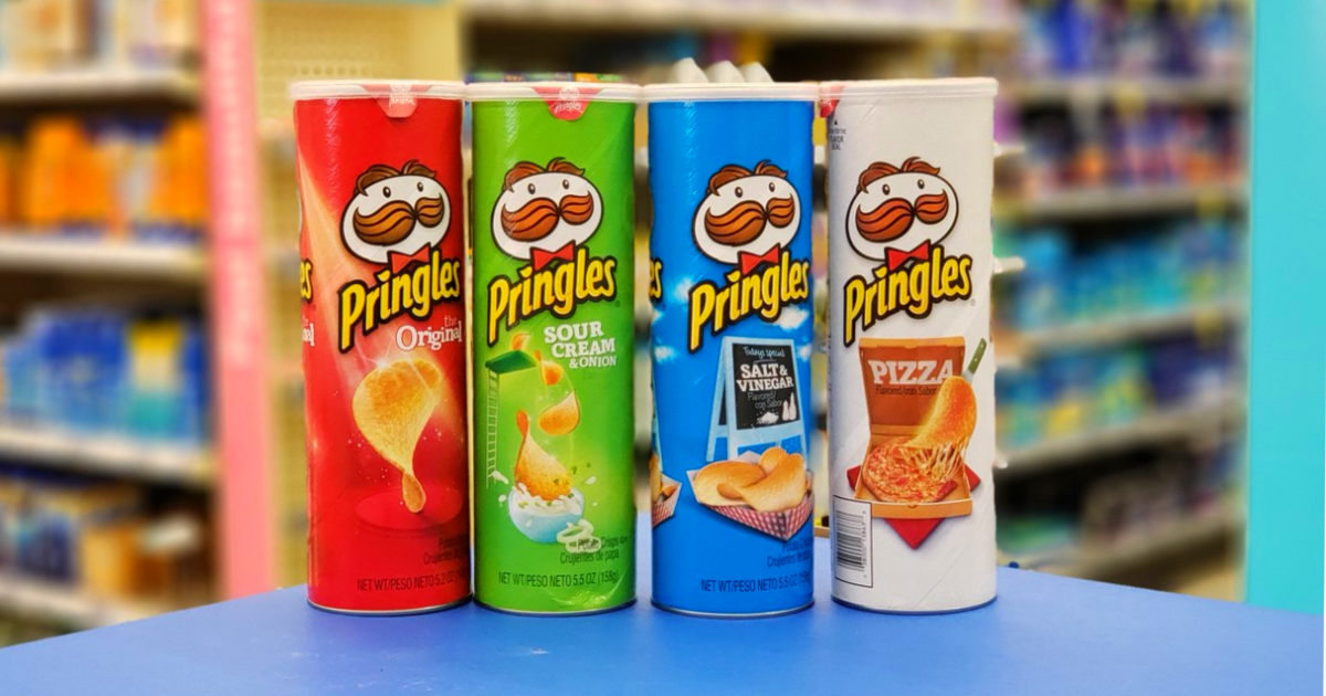 graphic about Pringles Printable Coupons identified as Fresh $1/4 Pringles Chips Coupon \u003d Simply $1 For every Can at