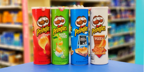 New $1/4 Pringles Chips Coupon = Only $1 Per Can at Walgreens