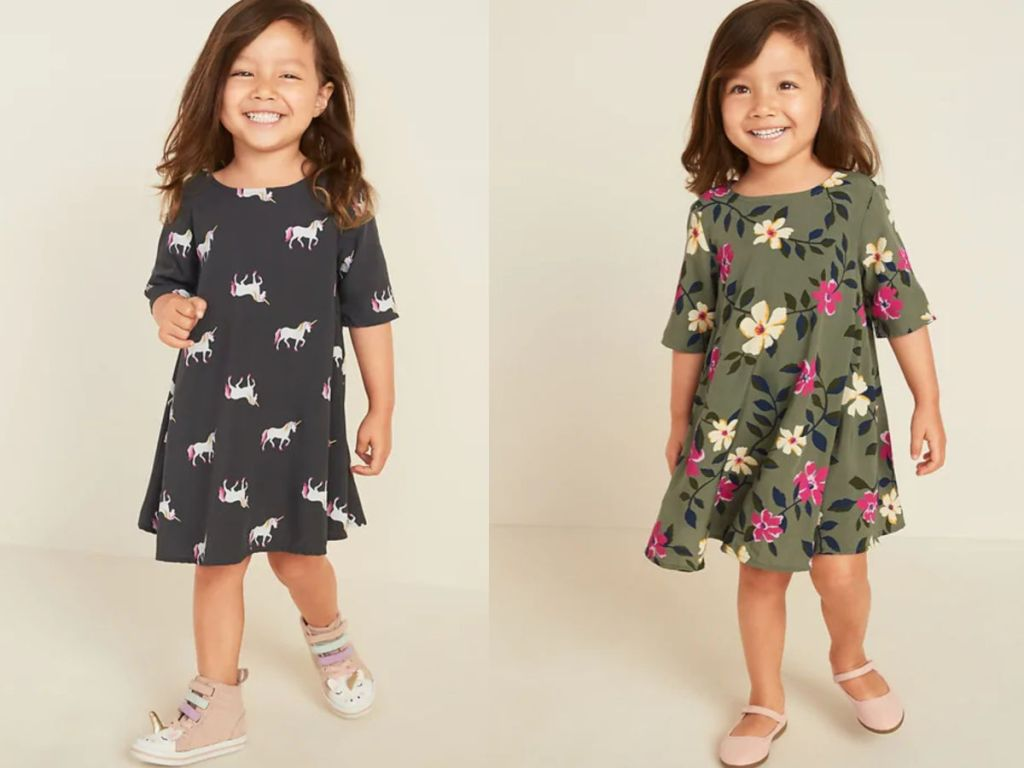old navy Printed Swing Dress for Toddler Girls
