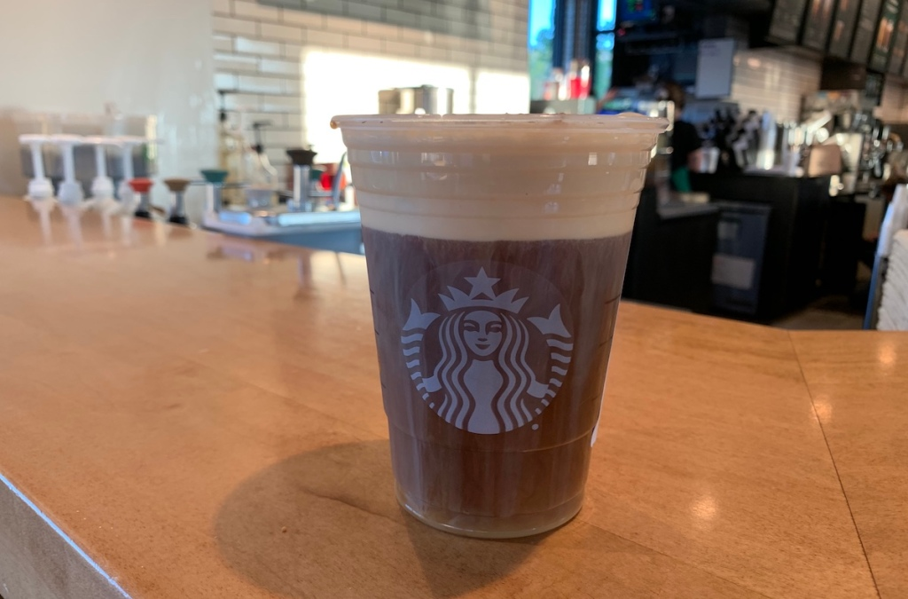 Pumpkin Cold Brew at Starbucks