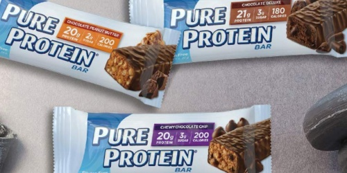 Pure Protein Bars 18-Count Variety Pack Only $11 Shipped at Amazon | Just 62¢ Per Bar