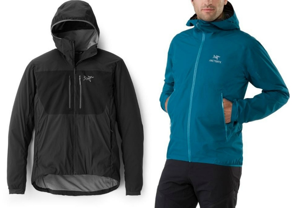 REI Arc'teryx Men's hoodies and jackets