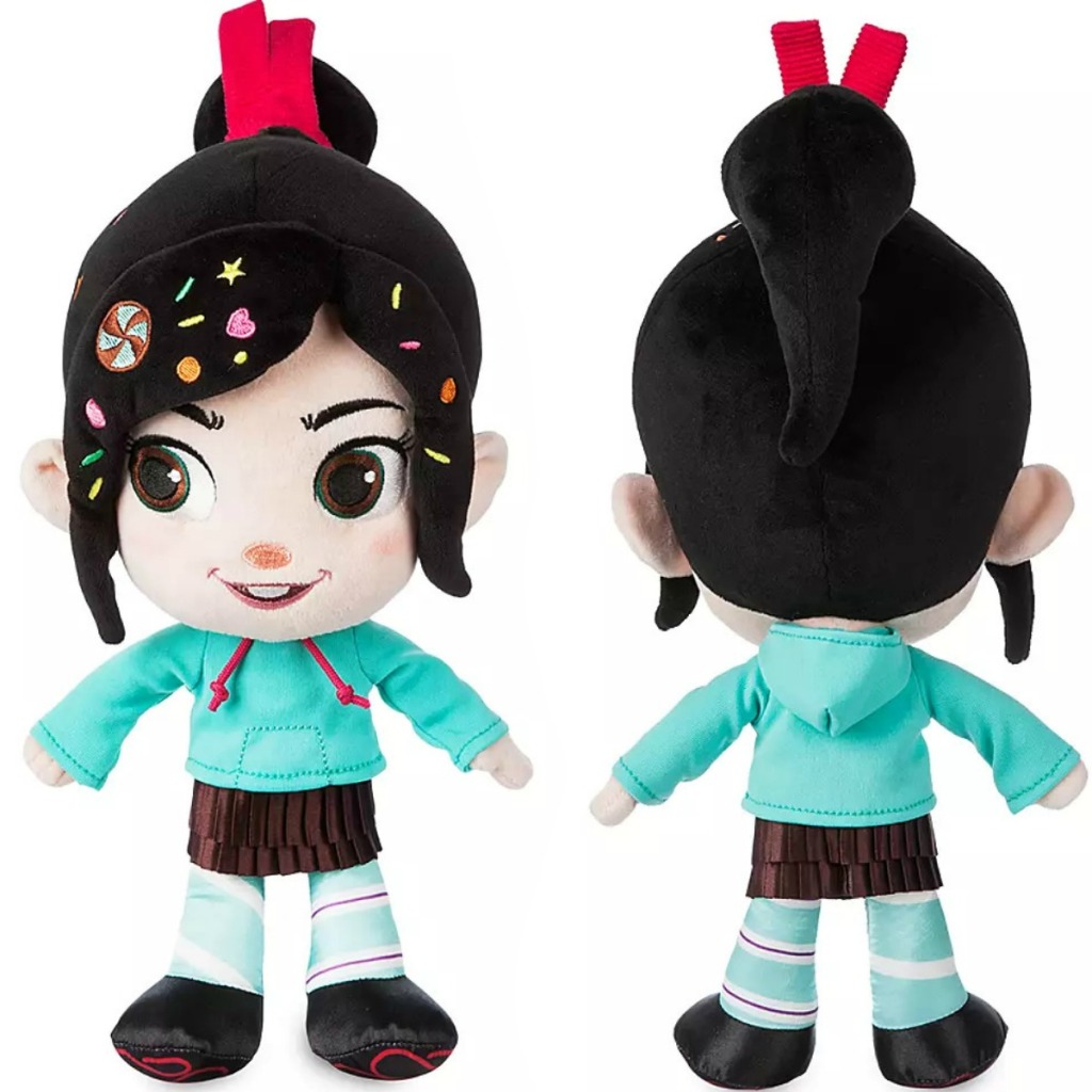 Vanellope character plush from Ralph Breaks the Internet