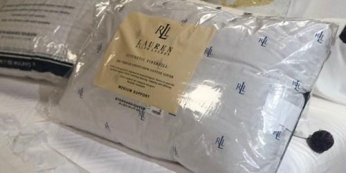 Ralph Lauren Down Alternative Pillows as Low as $5.99 at Macy's