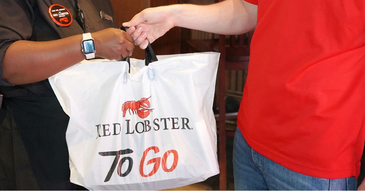 Red Lobster To Go Bag