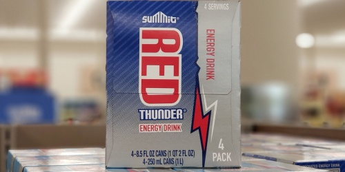 Have You Tried ALDI's Summit Red Thunder Energy Drinks? One Reader Claims They are Red Bull Copycat…