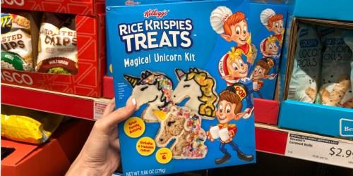 Rice Krispies Treats Magical Unicorn Kit Spotted at ALDI