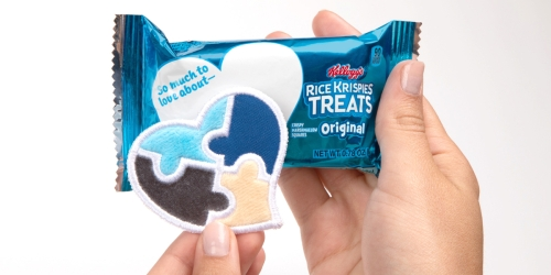 FREE Touch-and-Feel Sensory 'Love Notes' from Rice Krispies Treats | Designed For Kids on Autism Spectrum