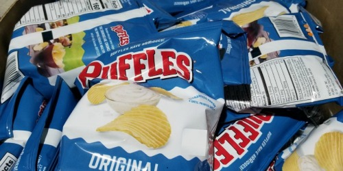 Stock Up on Back to School Favorite Snacks on Amazon | Ruffles, Doritos, Quaker & More