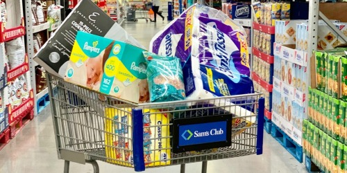 How to Save $15 Off Your Sam's Club Order | Save on Diapers, Laundry Items & More