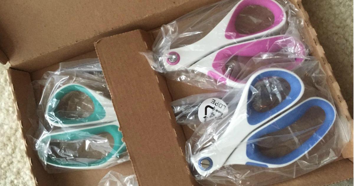 Scotch Precision Scissors 3-pack in open box