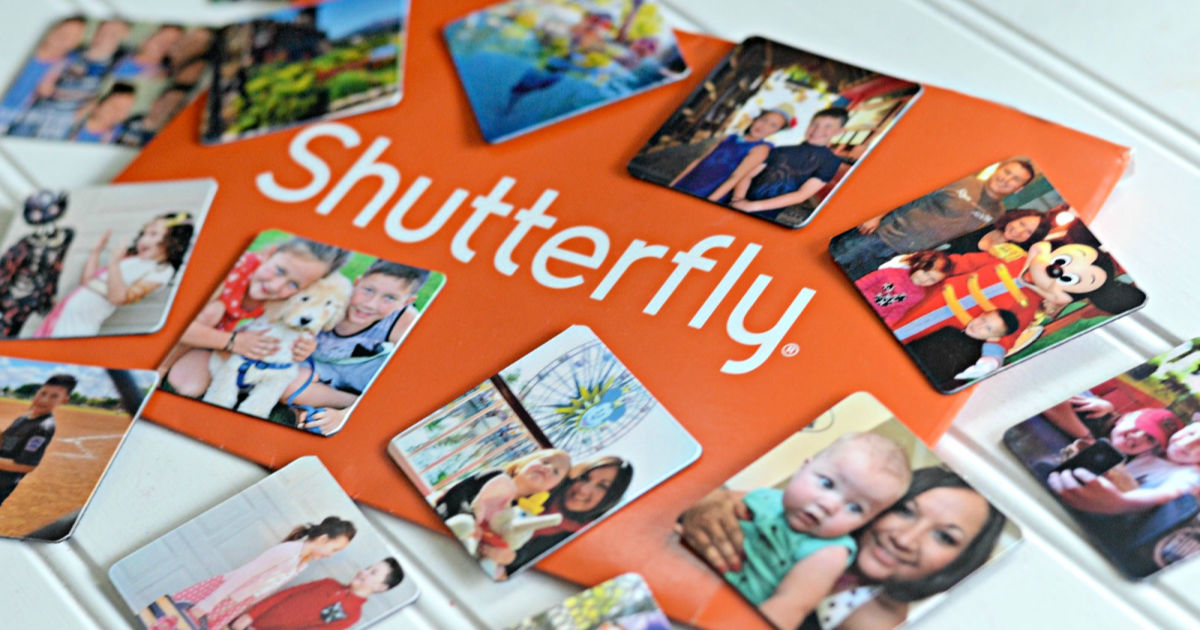 Shutterfly Magnets with envelope
