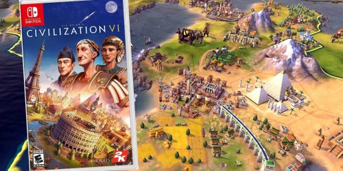 Sid Meier's Civilization VI Nintendo Switch Game Just $19.99 at Best Buy (Regularly $40)