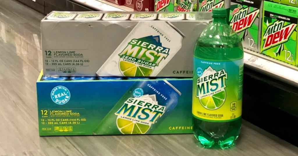 Sierra Mist soda at Target