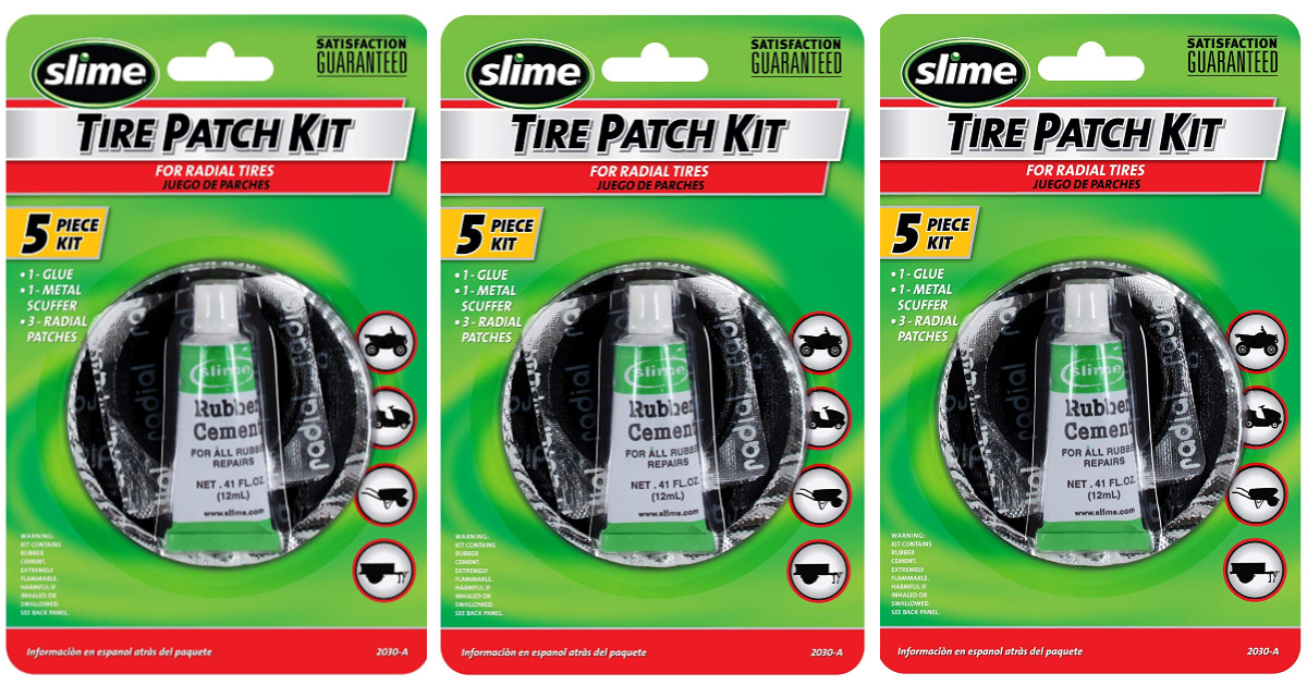 slime tire repair kits