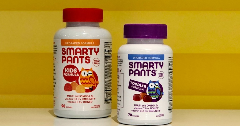 Smarty Pants Vitamins on shelf at Target