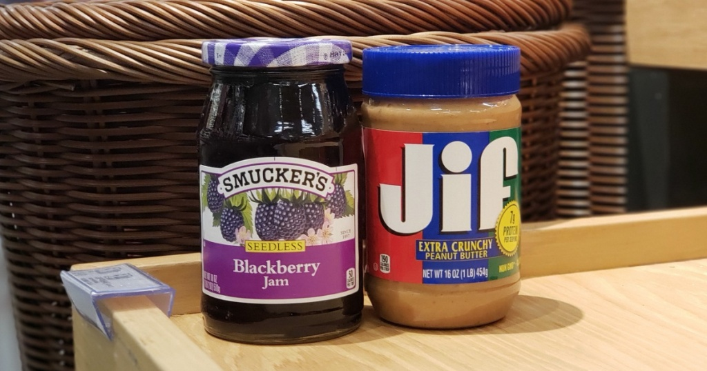 Smucker's and Jif Peanut Butter at Target