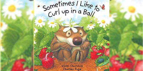 Sometimes I Like to Curl Up in a Ball Board Book Only $1.48 on Amazon