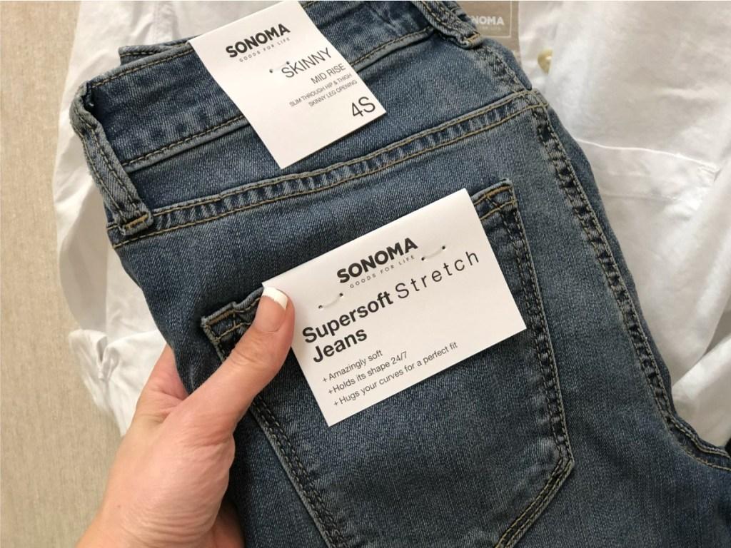 Sonoma Skinny Ankle Jeans