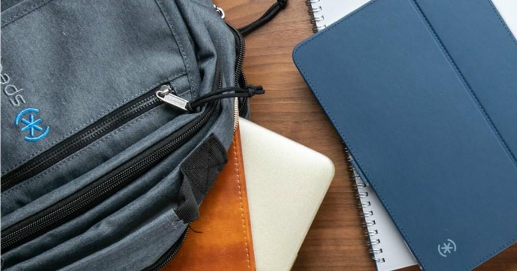 Speck Backpack on desk
