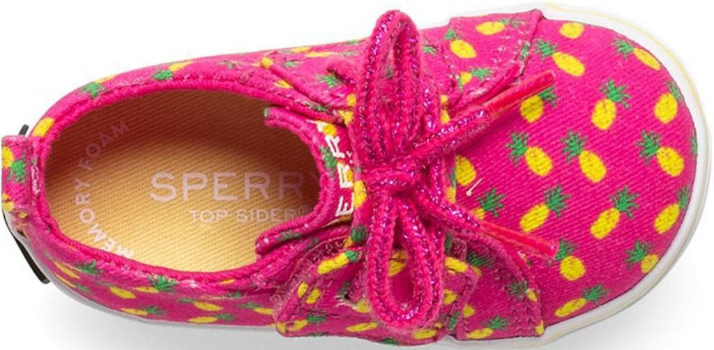 Sperry pineapple Crib shoes