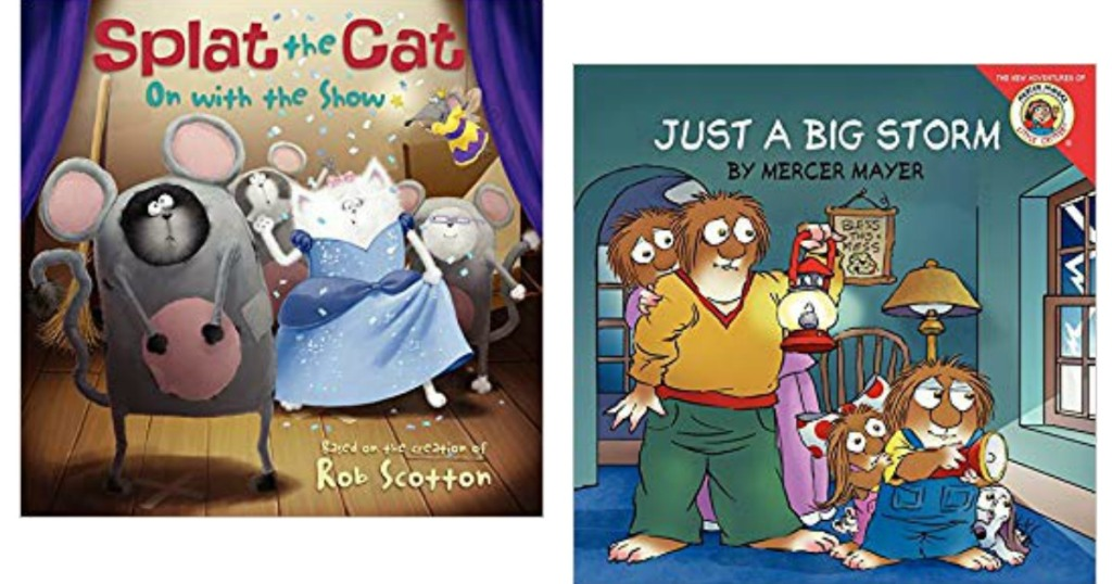 Splat the Cat and Little Critter Books