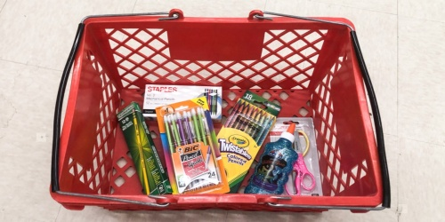 Staples School Supply Deals 8/25-8/31 | 50¢ Crayons, 97¢ Crayola Markers & More