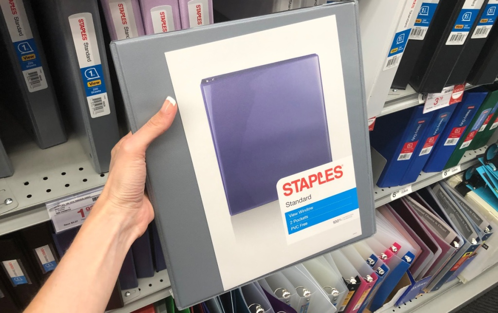 Staples Binder