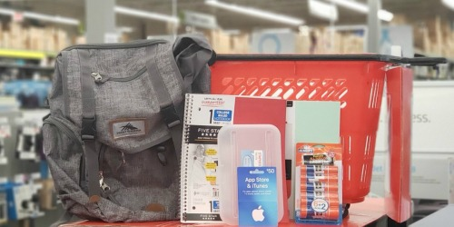 Staples School Supply Deals 8/11-8/17 | 25¢ Notebooks, 50¢ Filler Paper & More