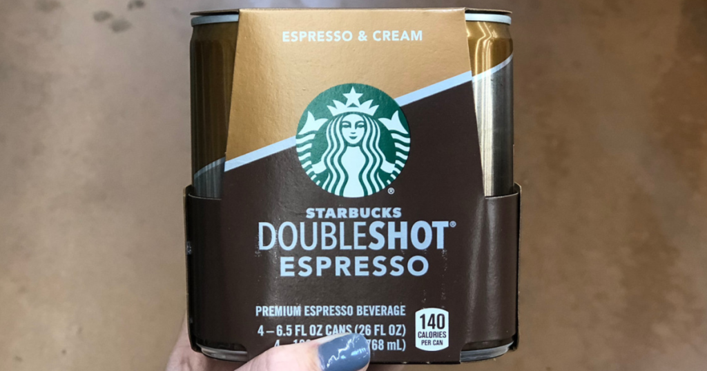 Starbucks Espresso & Cream Doubleshot Espresso 4-Pack