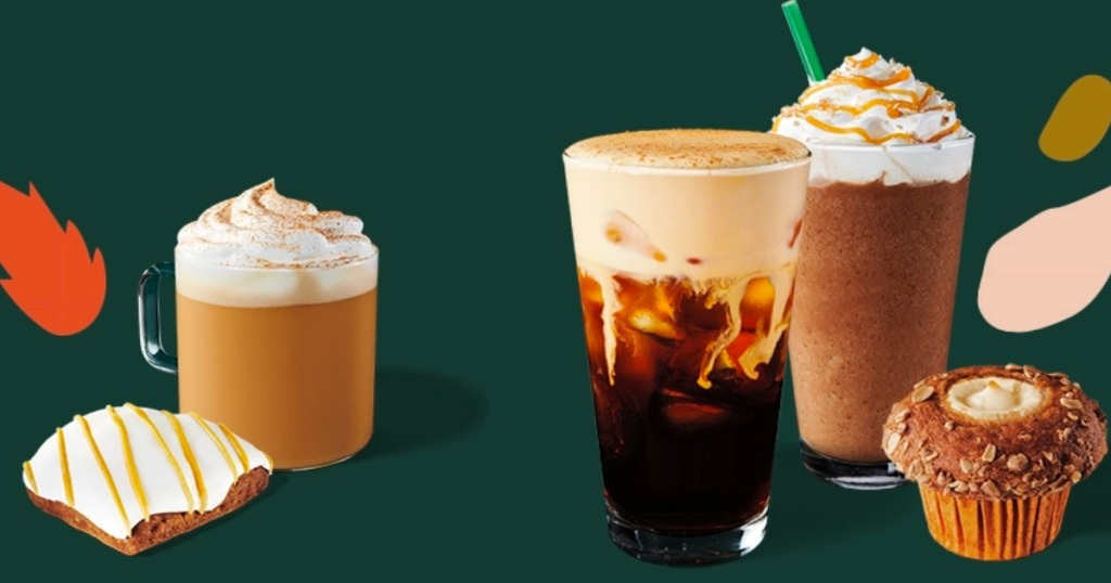Starbucks Fall Beverages and treats