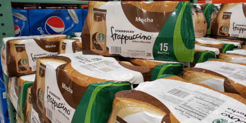 Starbucks Mocha Frappuccino 15-Count Only $13 Shipped on Amazon | Just 87¢ Per Bottle