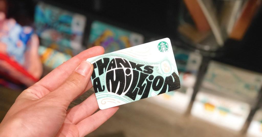 raise starbucks gift card