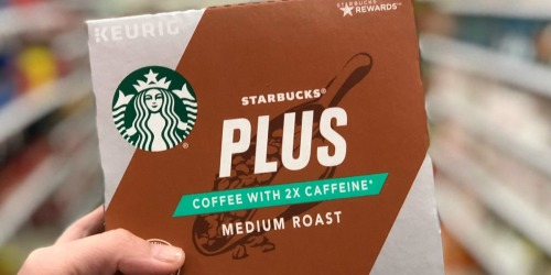 Starbucks PLUS K-Cups 10-Count Only $4.99 After Cash Back at CVS