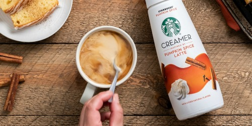 Starbucks Pumpkin Spice Creamer Now Available in Your Grocery Store