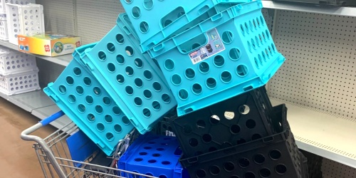 Sterilite Plastic Crates Only $1.50 at Walmart (Regularly $4)