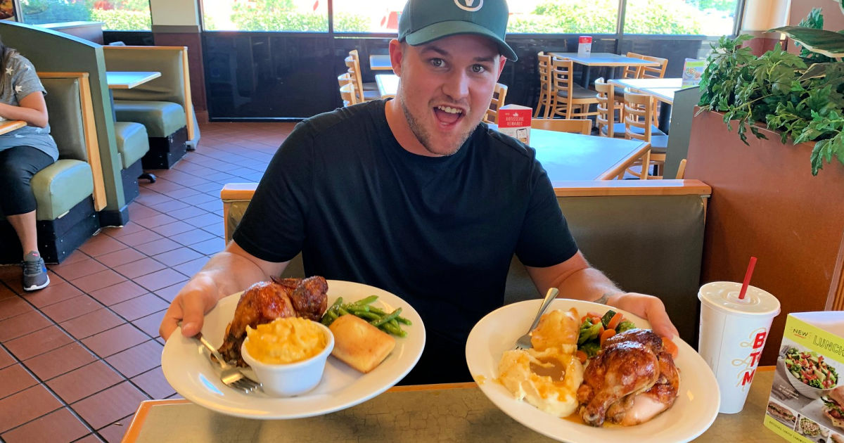 Stetson in Boston Market with BOGO Meals and Drink