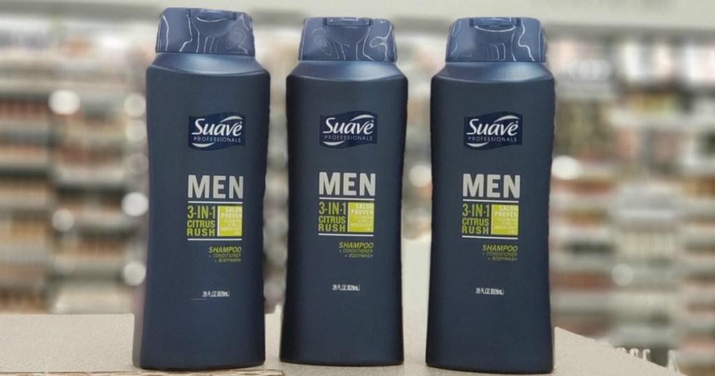 suave men's products