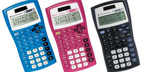 Texas Instruments Scientific Calculator Only $8.97 at Walmart | Approved for Use on SAT, ACT & More